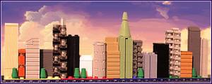 Footlong Skyline at Noon by JanetVanD