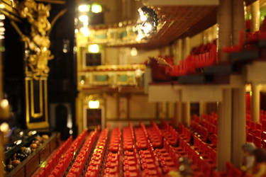Her Majesty's Theatre, London: Stalls by JanetVanD