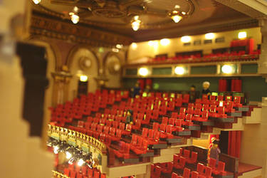 Her Majesty's Theatre, London: View of Auditorium by JanetVanD