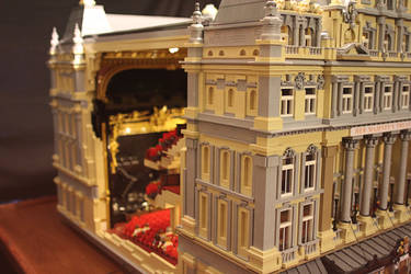 Her Majesty's Theatre, London: Side View by JanetVanD