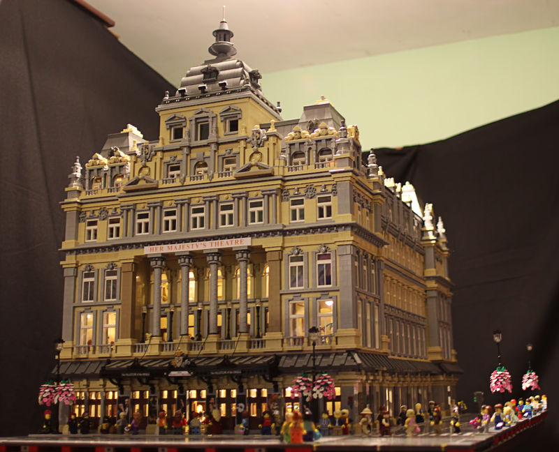 Her Majesty's Theatre, London: Front View
