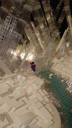 Fortress of Solitude - Superman's Front Door by JanetVanD
