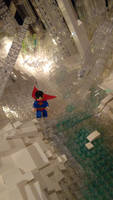 Fortress of Solitude - Superman Steps Out by JanetVanD