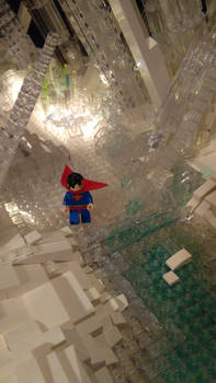 Fortress of Solitude - Superman Steps Out