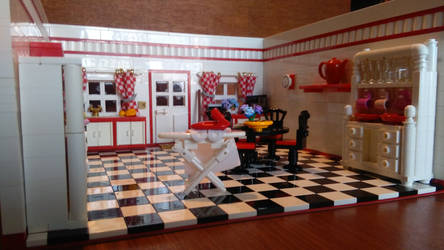 Random Rooms - Kitchen, right side by JanetVanD