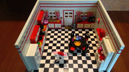 Random Rooms - Kitchen, overview by JanetVanD