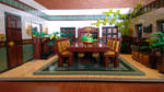 Random Rooms - Dining Room, front view