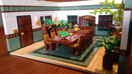 Random Rooms - Dining Room, left side