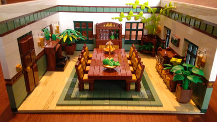 Random Rooms - Dining Room, overview by JanetVanD