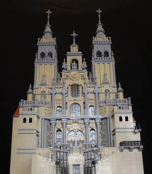 Santiago de Compostela Cathedral - Front View