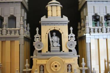 Santiago de Compostela Cathedral - Inset by JanetVanD