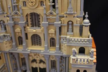 Santiago de Compostela Cathedral - Centre Detail by JanetVanD