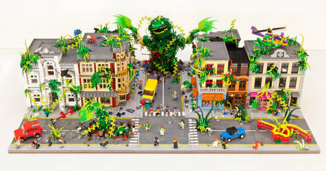 Plant Monster Invasion - Overview by JanetVanD