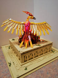 Phoenix at Sunrise : Atop the Temple of Ra