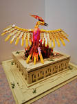 Phoenix at Sunrise : Atop the Temple of Ra by JanetVanD