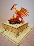 Phoenix at Sunrise: the nest ignites