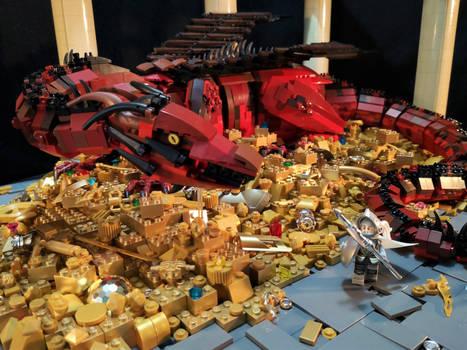 The Dragon's Hoard  (You woke me, puny human)