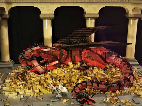 The Dragon's Hoard  (front view)