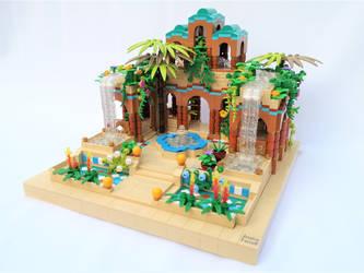 Persian Water Garden