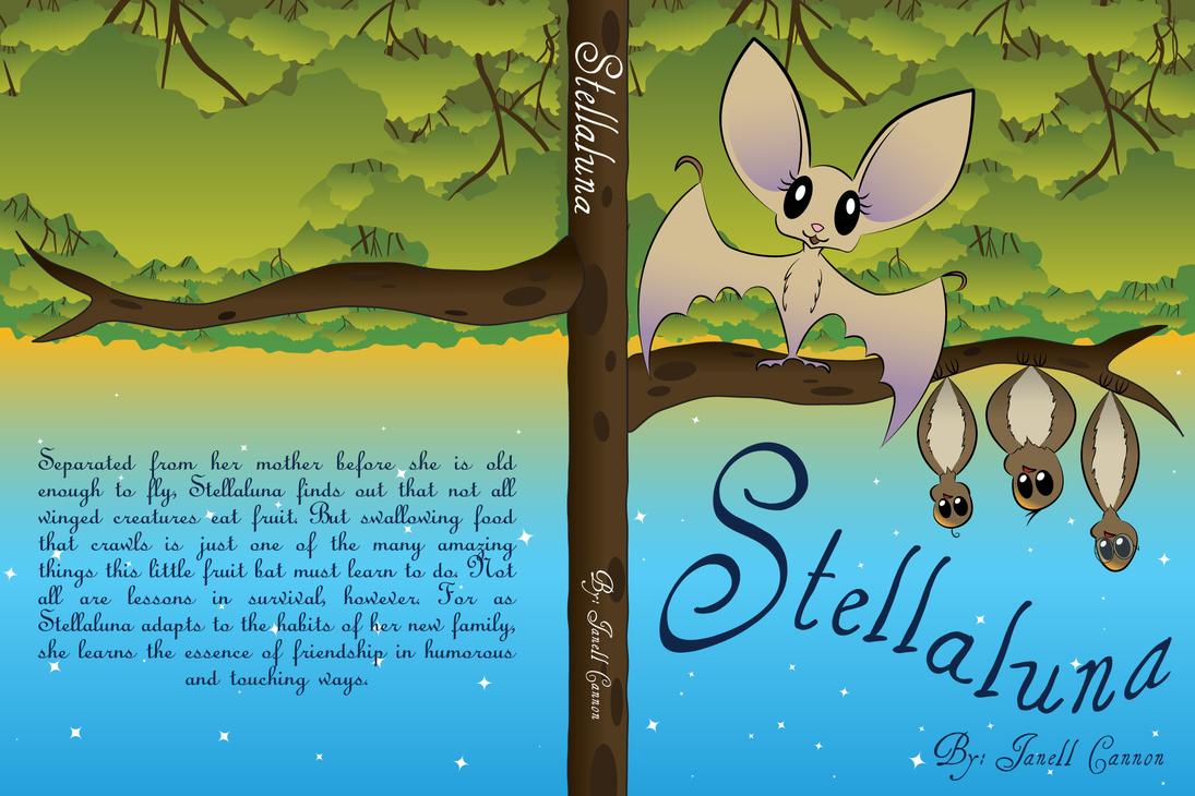 Book Cover Design Deviantart : Stellaluna book cover design by thesilverjellybean on