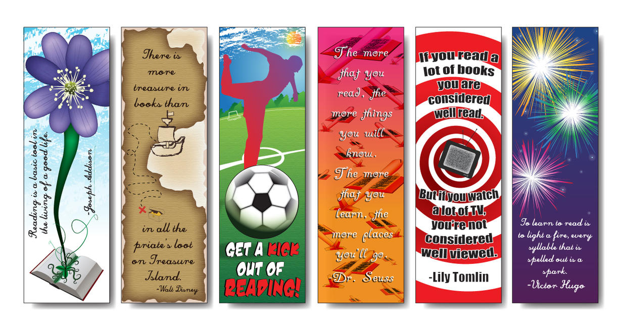 children 39 s bookmark designs by thesilverjellybean on deviantart