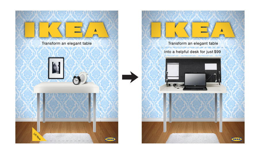 IKEA Magazine Ad by TheSilverJellybean. IKEA Magazine Ad by TheSilverJellybean on DeviantArt
