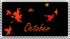 October Stamp by OctoberAzriel