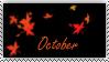October Stamp by OctoberAzriel