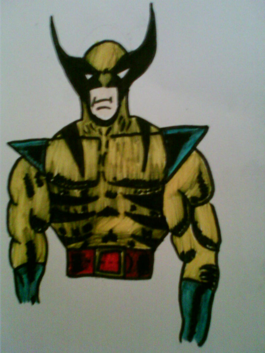 Wolverine by WinterWonderer1