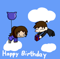 Happy Birthday Neko-chan! by Jumo-kunOfAwesome