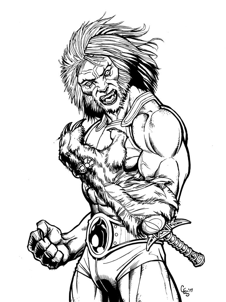 Lion-O (INKS) by Khilleus