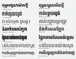 Khmer Modern Fonts (Khmer Fonts)