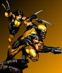 Wolverine and X-23 in MC