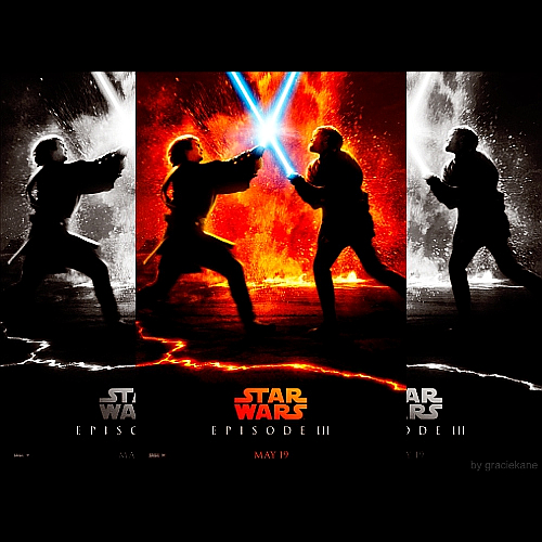 Anakin Vs Obi Wan Kenobi By Graciekane On Deviantart