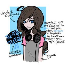 my look today (sketch)