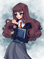 Hermione by poliip