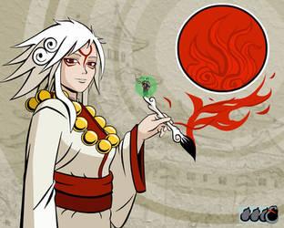 Amaterasu, Goddess of the Sun by bumman