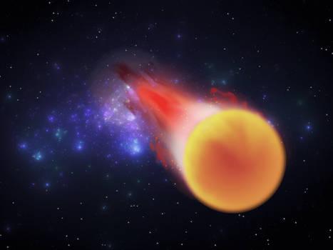 Universe009 - Burning
