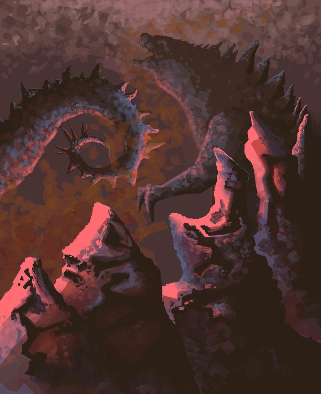 Godzilla by Ben-Walsh