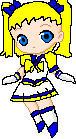 Sailor Celestial pixel doll