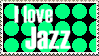I love jazz stamp by FlyingTanuki