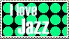 I love jazz stamp by FlyingTanuki