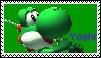 Yoshi Stamp by FlyingTanuki