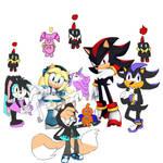 Shadow, Spear, Space, Stare, Maria, Cheer, Miraja-