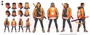 Twitch.tv/buddha character avatar commission