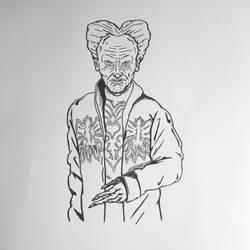 Inktober 2016, Day 5 - Dracula