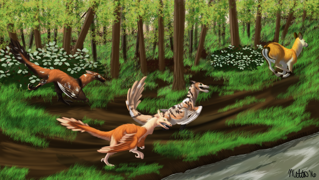 Test of the Hunt- Commission for Rosae-Aurelia by Bimisi