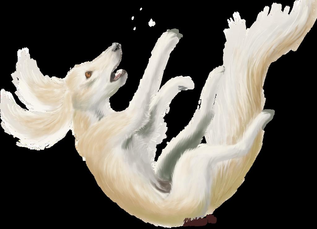 Falling: Raffle prize for Lune-Youma by Bimisi