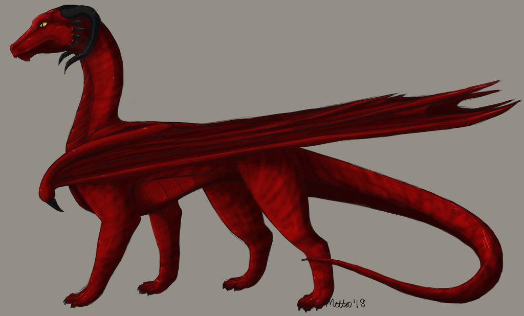 Dragon by Bimisi