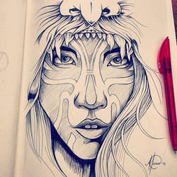 Indian Sketch